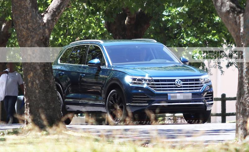 2019 Volkswagen Touareg Spied Completely Undisguised!