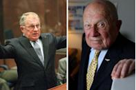"""<p>Another member of """"The Dream Team"""", the 87-year-old<a href=""""https://www.townandcountrymag.com/society/a10284185/f-lee-bailey-oj-lawyer-interview/"""" rel=""""nofollow noopener"""" target=""""_blank"""" data-ylk=""""slk:F. Lee Bailey"""" class=""""link rapid-noclick-resp""""> F. Lee Bailey </a>(who also famously represented Patty Hearst) has fallen from grace since the trial: he was disbarred in both Florida and Massachusetts for his handling of stock owned by a drug-smuggler client. He also filed for bankruptcy in 2016. Even after passing the bar in Maine, where he now resides, he has still been denied a license to practice. </p>"""