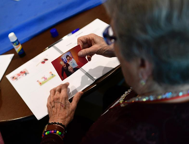 Parkinson's, a neurodegenerative disorder that causes patients movement and cognitive problems, is estimated to effect up to 10 million people worldwide (AFP Photo/PIERRE-PHILIPPE MARCOU)