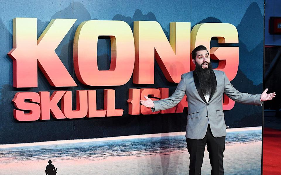 Director Jordan Vogt-Roberts attending the 'Kong: Skull Island' European Premiere. (Chris J Ratcliffe/PA Wire/PA Images)