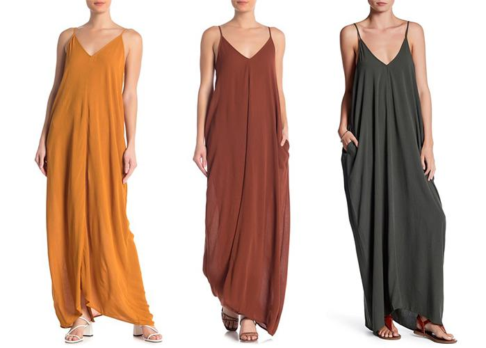 Meet the $30 maxi dress you'll wear all summer and fall. (Photo: Nordstrom Rack)