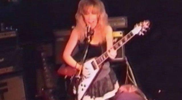 Jones was previously a member of an all-girl punk rock group. Photo: Youtube