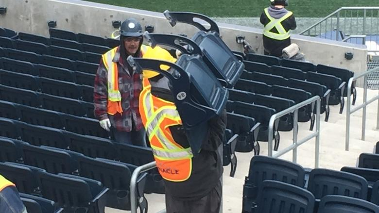 Blue Bombers stadium undergoing $21M in repairs ahead of training camp