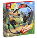 """<p><strong>Nintendo</strong></p><p>amazon.com</p><p><a href=""""https://www.amazon.com/dp/B07XV4NHHN?tag=syn-yahoo-20&ascsubtag=%5Bartid%7C10054.g.14381053%5Bsrc%7Cyahoo-us"""" rel=""""nofollow noopener"""" target=""""_blank"""" data-ylk=""""slk:Buy"""" class=""""link rapid-noclick-resp"""">Buy</a></p><p>Getting yolked—or, you know, breaking a sweat once in a while—while playing video games? That sure as hell beats a gym membership.</p>"""