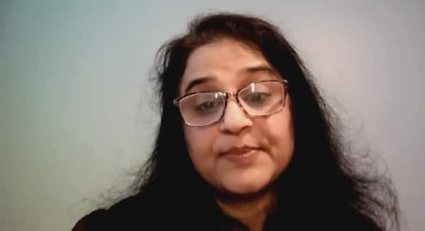 Nandini Tirumala, project director with the South Asian Centre of Windsor, says she's worried that there is racist rhetoric surrounding the flight ban. (Mrinali Anchan/CBC - image credit)