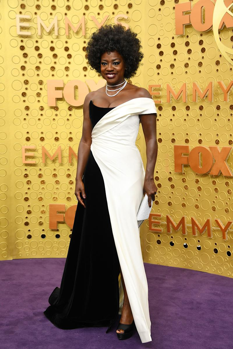 LOS ANGELES, CALIFORNIA - SEPTEMBER 22: Viola Davis attends the 71st Emmy Awards at Microsoft Theater on September 22, 2019 in Los Angeles, California. (Photo by Kevin Mazur/Getty Images)