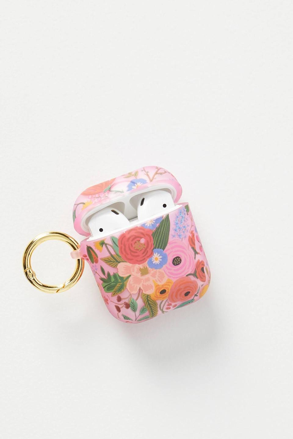 """<p><strong>Rifle Paper Co. Anthropologie</strong></p><p>anthropologie.com</p><p><strong>$26.00</strong></p><p><a href=""""https://go.redirectingat.com?id=74968X1596630&url=https%3A%2F%2Fwww.anthropologie.com%2Fshop%2Frifle-paper-co-airpods-case&sref=https%3A%2F%2Fwww.thepioneerwoman.com%2Fholidays-celebrations%2Fgifts%2Fg33985357%2Fbest-gifts-for-mom%2F"""" rel=""""nofollow noopener"""" target=""""_blank"""" data-ylk=""""slk:Shop Now"""" class=""""link rapid-noclick-resp"""">Shop Now</a></p><p>If she's never without her AirPods, she'll adore a cute accessory like this one. It'll keep her favorite gadget safe and give it a stylish upgrade all at once.</p>"""