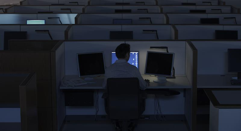 There are multiple reasons why loneliness is a growing issue among employees. (Getty Images)