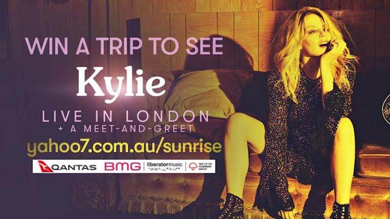 Win your way to see kylie minogue live in london kylie minogue is back in the charts with a brand new album called golden to celebrate were giving you the chance to win a meet and greet with the m4hsunfo