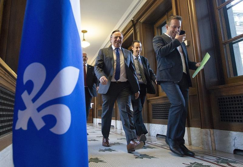 Quebec Premier Francois Legault heads to Hollywood to talk carbon and business