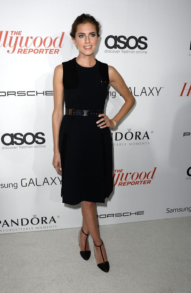 WEST HOLLYWOOD, CA - SEPTEMBER 19: Actress Allison Williams arrives at The Hollywood Reporter's Emmy Party at Soho House on September 19, 2013 in West Hollywood, California. (Photo by Frazer Harrison/Getty Images)