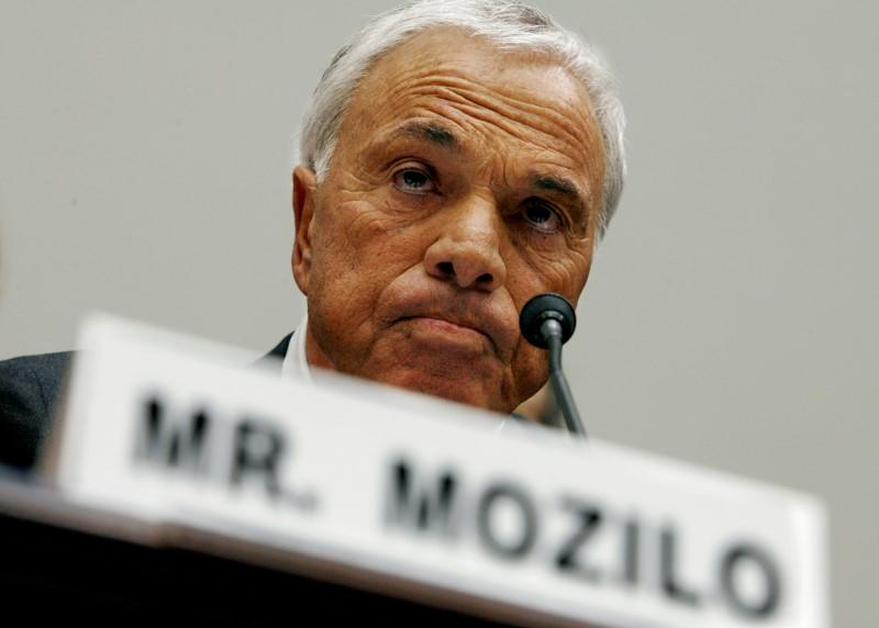 File photo of Countrywide Financial Corporation CEO Mozilo on Capitol Hill in Washington