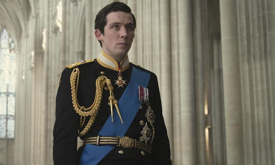 """Josh O'Connor as Prince Charles in a scene from """"The Crown."""""""