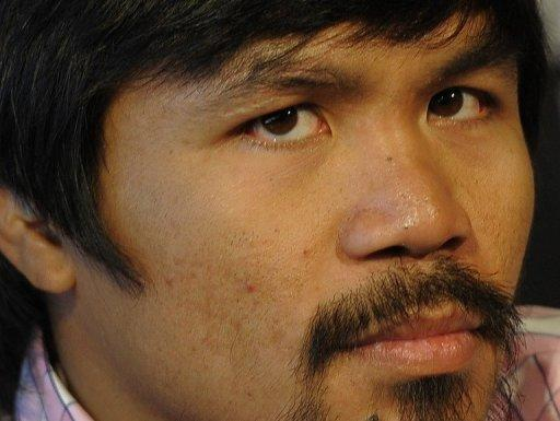 Manny Pacquiao is set to face his American opponent on June 9
