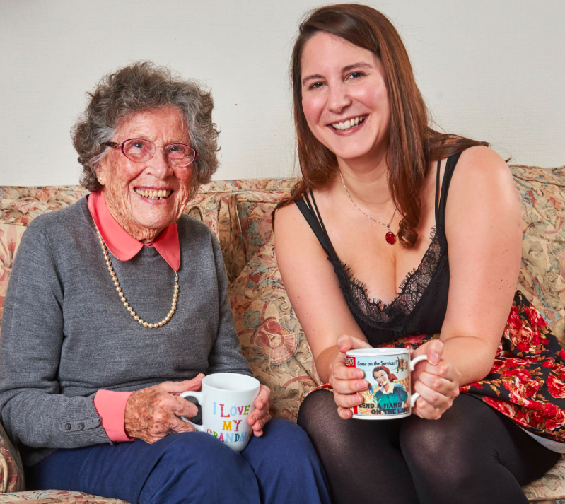 <em>Florence Smith (left) and Alexandra Knox hit it off instantly after moving in together (Caters)</em>
