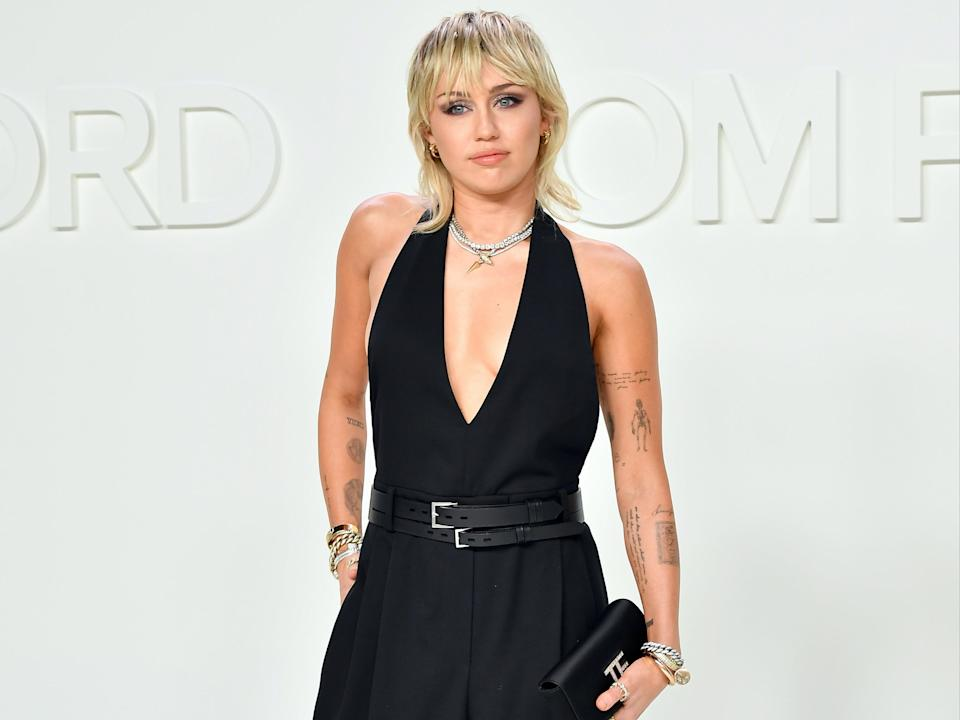 Miley Cyrus says she is doing 'a lot of FaceTime sex' during pandemic  (Getty Images)