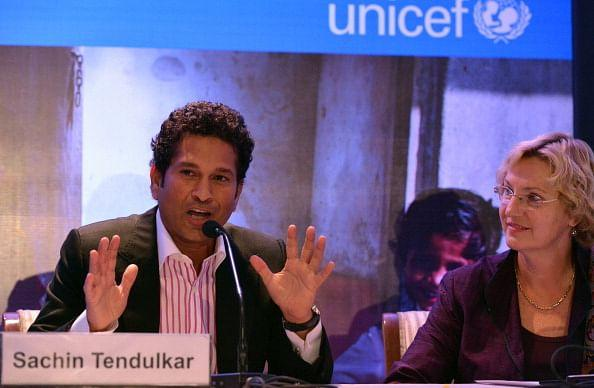 Sachin Tendulkar signs up for UNICEF as their brand ambassador
