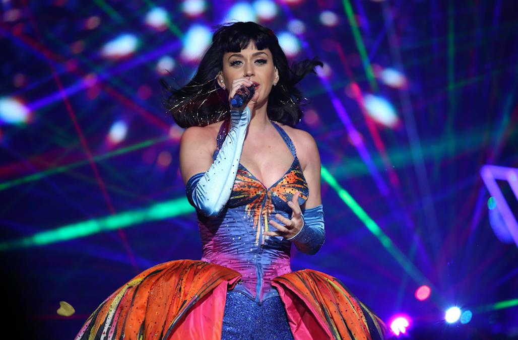 Katy Perry Holds Asia Live Tour In Guangzhou