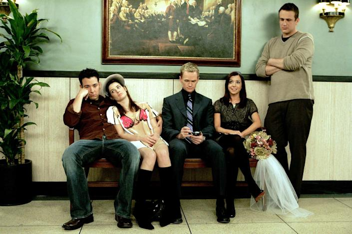 """<p>Yes, it takes nine long seasons for Ted to meet the titular mother, but <strong>How I Met Your Mother</strong> still serves up some seriously heartfelt moments along the way. From Ted stealing a blue french horn for Robin to the unforgettable two-minute date sequence, the journey is definitely better than the destination on this show. </p> <p><a href=""""https://www.hulu.com/series/bc68ac79-3ace-4427-9ec0-5ee6f314d194"""" class=""""link rapid-noclick-resp"""" rel=""""nofollow noopener"""" target=""""_blank"""" data-ylk=""""slk:Watch How I Met Your Mother on Hulu."""">Watch <strong>How I Met Your Mother</strong> on Hulu.</a></p>"""