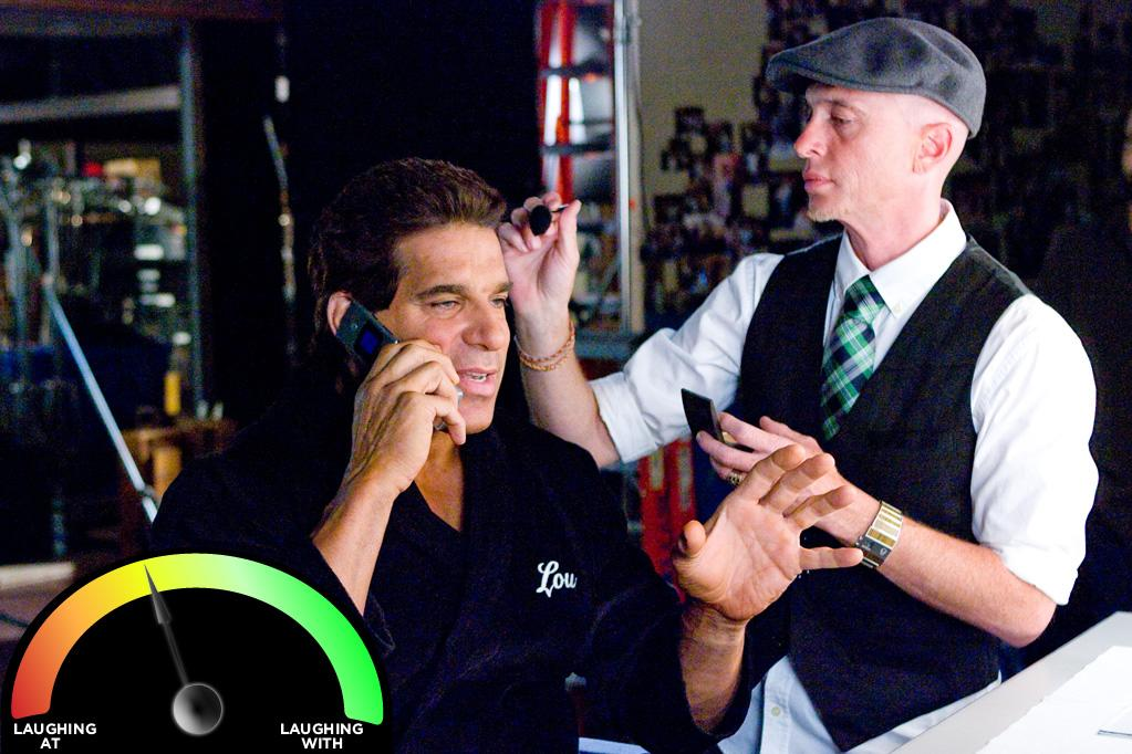 """<b>Lou Ferrigno </b><br>""""<a href=""""http://movies.yahoo.com/movie/i-love-you-man/"""">I Love You, Man</a>"""" (2009)<br>There's a reason Ferrigno only played the Hulk who smashes and not Dr. Banner who thinks and talks. But while acting isn't his strongpoint, the rest of Ferrigno is, so I won't say any more to make him mad. <br>"""