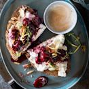 <p>With fresh cherries and a creamy thyme-spiked ricotta spread, this easy tartine recipe is perfect for a healthy breakfast. Serve with a green salad for an easy lunch or light dinner.</p>