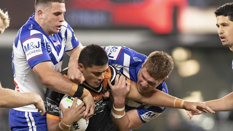 NRL BULLDOGS TIGERS