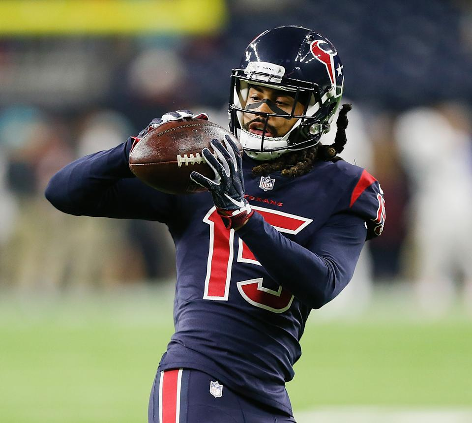 Will Fuller, now with the Miami Dolphins, won't play this week due to a personal matter. (Photo by Bob Levey/Getty Images)