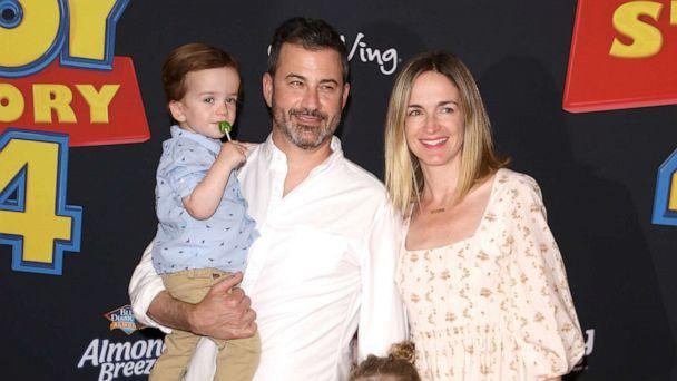 PHOTO: William Kimmel, Jimmy Kimmel, Jane Kimmel, and Molly McNearney arrive to the Los Angeles premiere of Disney and Pixar's 'Toy Story 4,' June 11, 2019 in Los Angeles. (Michael Tran/FilmMagic/Getty Images, FILE)