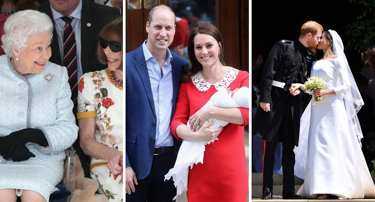 <p>Take a look at the best photos of the Royal Family in 2018 [Photos: Getty] </p>