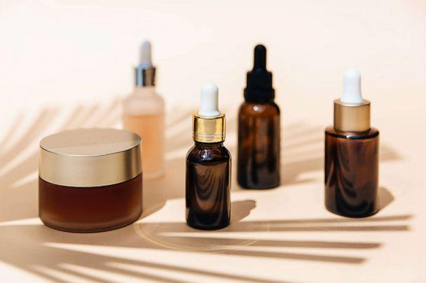 PHOTO: Empty cosmetics containers are pictured in an undated stock photo. (STOCK PHOTO/Getty Images)