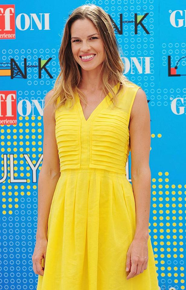 "July 30: Hilary Swank turns 37. Stefania D'Alessandro/<a href=""http://www.gettyimages.com/"" target=""new"">GettyImages.com</a> - July 14, 2011"