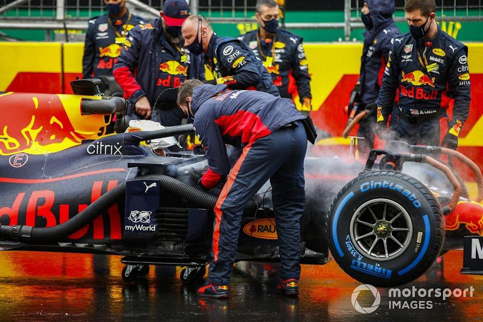 "Istanbul: Max Verstappen (Red Bull)<span class=""copyright"">Andy Hone / Motorsport Images</span>"