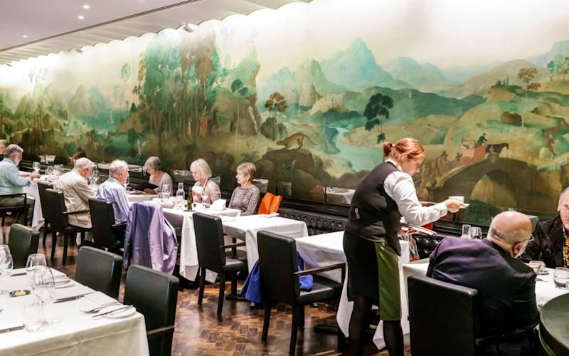 Rex Whistler Restaurant at the Tate Britain  - Jeff Greenberg/Universal Images Group Editorial