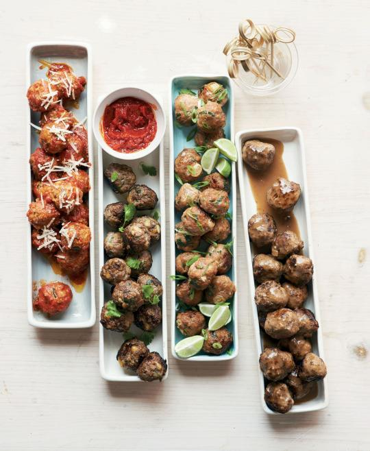 Swedish meatballs from martha stewarts appetizers forumfinder Images