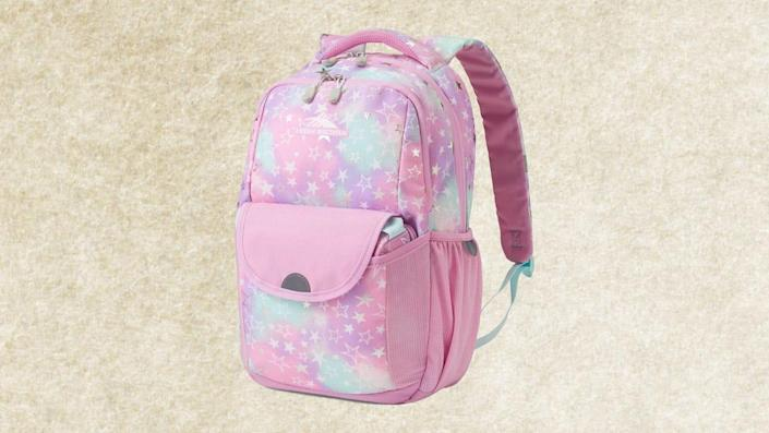 Macy's buyers said this backpack was perfectly sized for younger students.