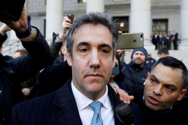PHOTO: President Donald Trump's former lawyer Michael Cohen exits Federal Court after entering a guilty plea in New York, Nov. 29, 2018. (Andrew Kelly/Reuters)