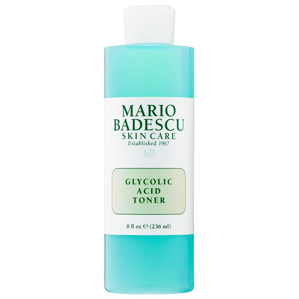 <p>Another toner that totally lives up to the hype: <span>Mario Badescu Glycolic Acid Toner</span> ($18). It's mild but deliciously balancing postcleanse. Oh, and it's under $20.</p>