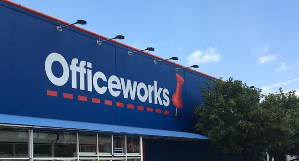 Customers struggling to find toilet paper might want to visit Officeworks. Source: Google Maps/John Szaszvari