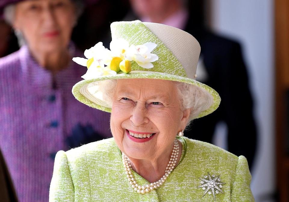 <p>The Queen pictured in Somerset in March 2019. (PA) </p>