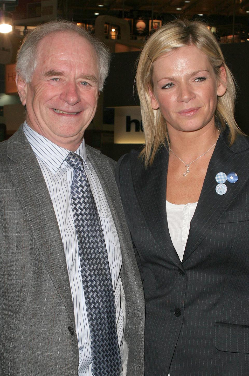 Johnny Ball and Zoe Ball during Daily Mail Ideal Home Show 2006 - Photocall at Earls Court in London, Great Britain. (Photo by Fred Duval/FilmMagic)