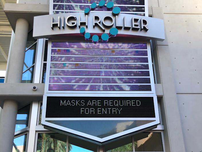 Masks Required for Entry