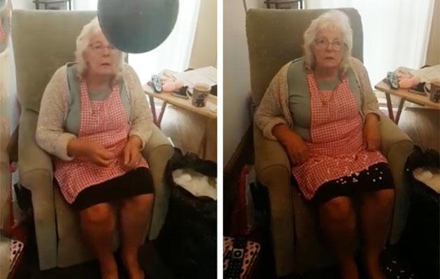 This gran does not hold it together. (Photo: Facebook)