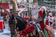 <p>Vanessa Hudgens makes her bid to be the queen of the holidays on Netflix with another rom-com. This one is about a modern woman who encounters (okay, she hits him with her car), a knight (Josh Whitehouse) who's been sent to the future from the 14th century.</p>