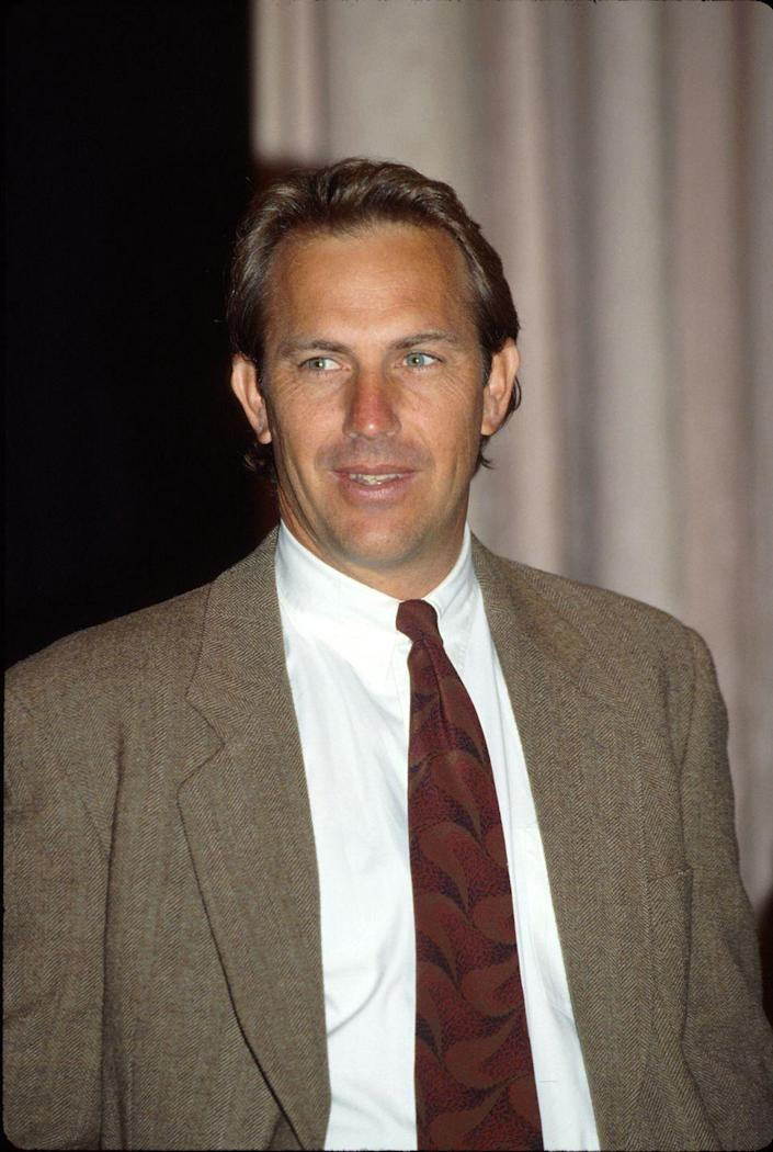<p>Kevin Costner got people's attention with his Academy Award-winning film <em>Dances with Wolves,</em> which he directed and starred in. Two years later, he appeared in <em>The Bodyguard, </em>a romantic drama costarring Whitney Houston, proving he could be a romantic lead too.</p>