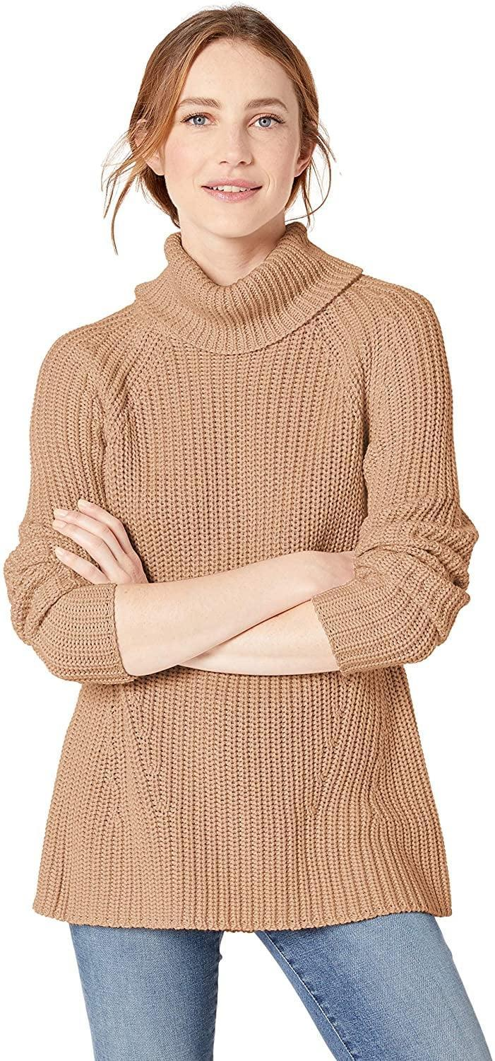 <p>Shoppers rave about this <span>Goodthreads Turtleneck Sweater</span> ($40).</p>