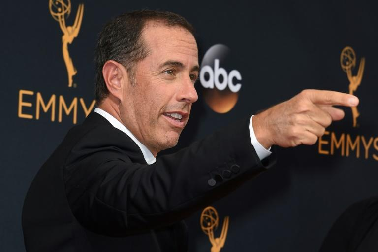 """Seinfeld,"" the wildly popular sitcom created by Jerry Seinfeld -- seen here at the Emmys in 2016 -- will be available on Netflix from 2021"