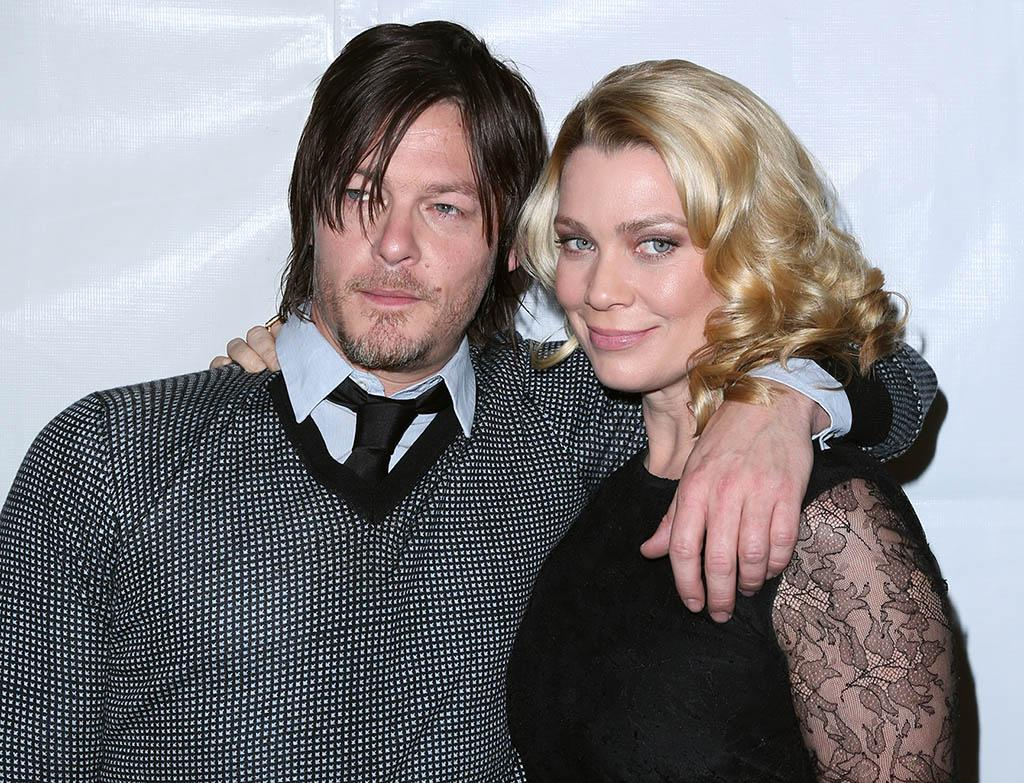 """Norman Reedus and Laurie Holden attend the 30th Annual PaleyFest featuring the cast of """"The Walking Dead"""" at Saban Theatre on March 1, 2013 in Beverly Hills, California."""