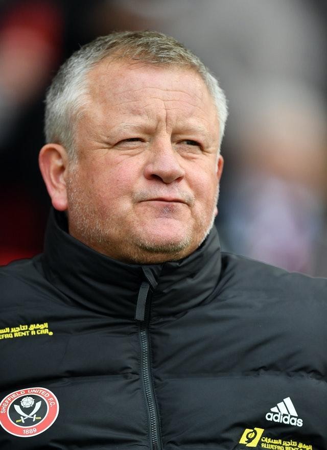 Chris Wilder admitted he has to pick his players up after the 3-0 reverse at Newcastle (PA)