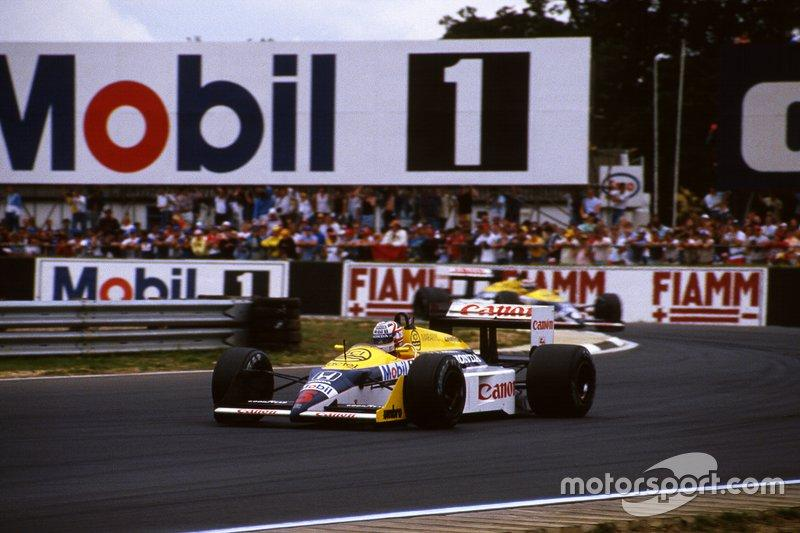 "1987 Nigel Mansell, Williams <span class=""copyright"">David Phipps</span>"