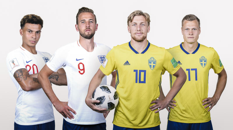 England 'absolutely good enough' to win World Cup says Sweden's Janne Andersson